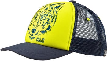 Jack Wolfskin Animal Mesh Cap Kids flashing green