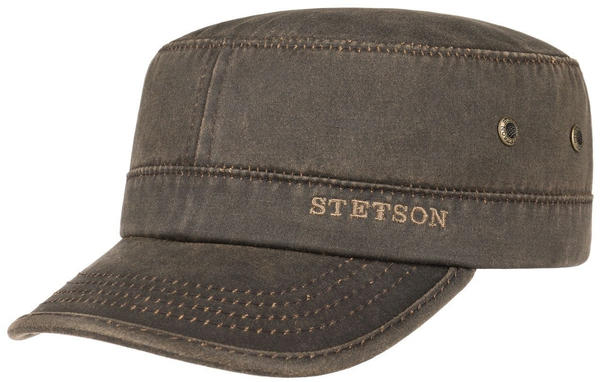 Stetson Datto Armycap brown
