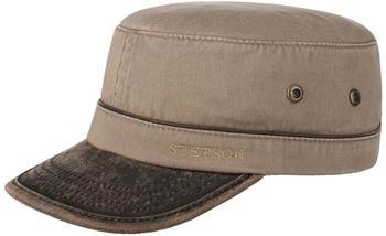 stetson-katonah-cotton-army-cap-light-brown