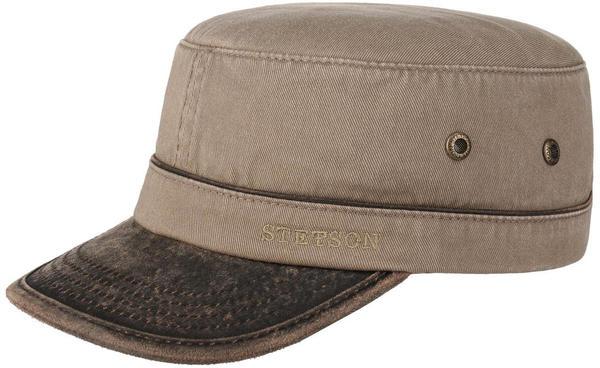 Stetson Katonah Cotton Army Cap light brown