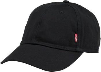 Levi's Classic Twill Red Tab Baseball Cap (77136-0157) black