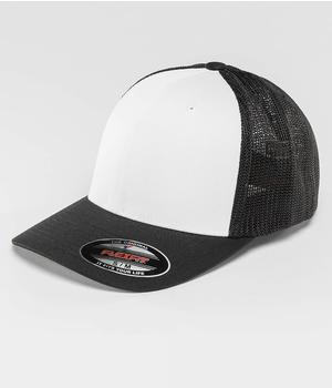 Flexfit Flexfitted Cap Mesh Colored black (UC6511CFBLKWHTBLK)