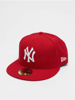 New Era Fitted Cap MLB Basic NY Yankees 59Fifty red (10011573)