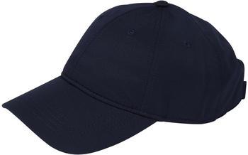 Lacoste Men's Lacoste SPORT cap in solid diamond weave taffeta blue