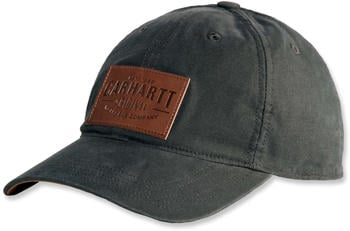 Carhartt Rigby Stretch Fit Leatherette Patch Cap peat