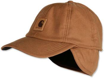 Carhartt Stretch Fitted Earflap Cap carhartt brown