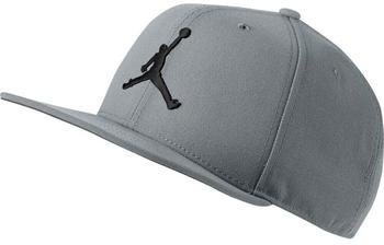 Nike Jordan Pro Jumpman Snapback grey
