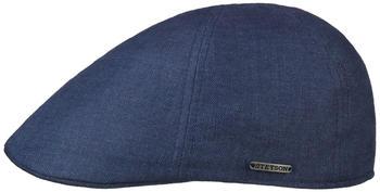 Stetson Texas Just Linen Flatcap navy