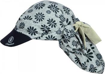 Chaskee Visor Snap Cap Happy Flowers grey/black