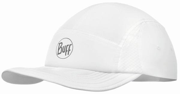 Buff Pack Run Cap solid white
