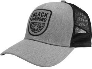 Black Diamond BD Trucker Hat heathered aluminum/black