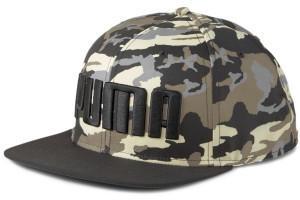 Puma Flat Brim Cap black/brown