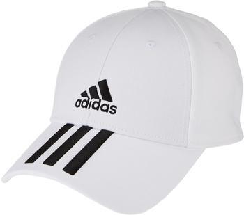 Adidas Baseball 3-Stripes Twill Cap S/M white/black/black