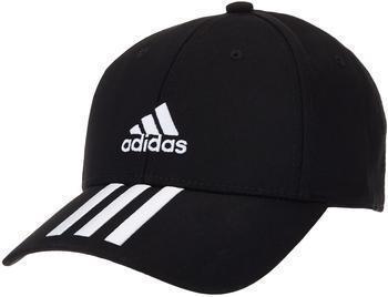 Adidas Baseball 3-Stripes Twill Cap S/M black/white/white