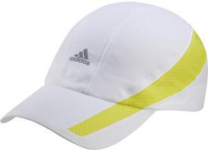 Adidas Aeroready Retro Tech Reflective Runner Cap white/acid yellow/black reflective