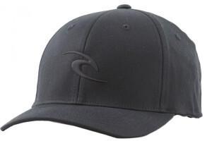 Rip Curl Tepan Weld Flexfit Cap Cap Black