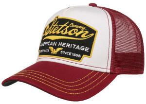 Stetson American Heritage Trucker Cap bordeaux