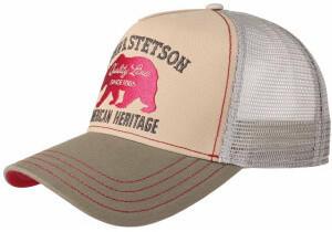 Stetson JBS-Bear Trucker Cap beige