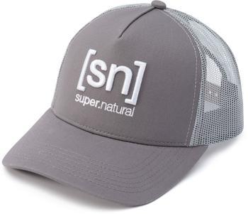 SUPER NATURAL Super Natural I.D. Trucker Cap LightGrey/SilverGrey
