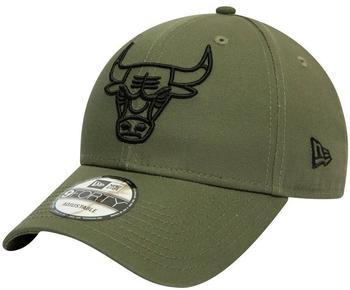 new era New Era Chicago Bulls Essential Outline 9FORTY green
