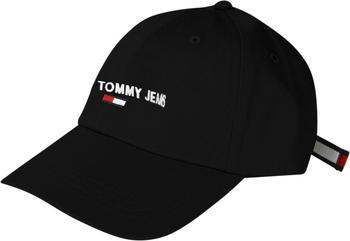 Tommy Hilfiger Contrast Strap Baseball Cap (AM0AM07174) black