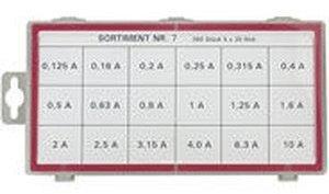 Wentronic Feinsicherungen 5x20 träge (20303)
