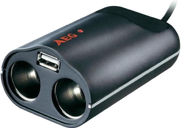 AEG Doppelsteckdose mit USB (97212)