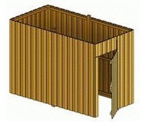 Skan Holz Abstellraum aus Deckelschalung (305094)