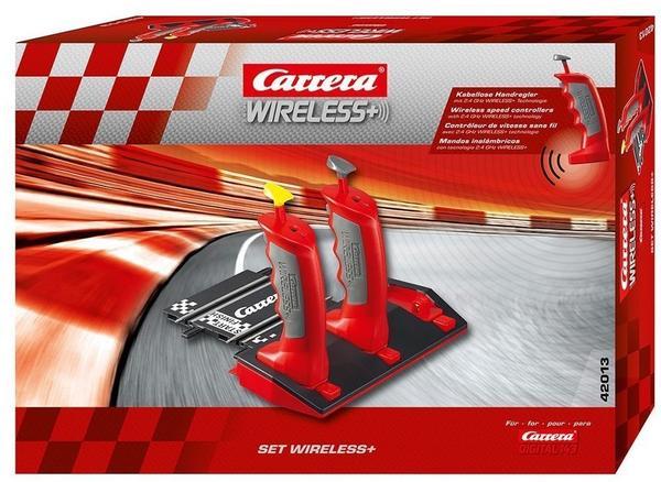 Carrera Digital 143 - 2.4 GHz Wireless+ Anschlussschiene inkl. 2 Handreglern