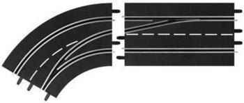Carrera Digital 124 - Spurwechselkurve Links außen nach innen