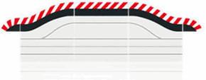 Carrera Digital 132/124 - Außenrandstreifen für Pit Stop Lane (20602)
