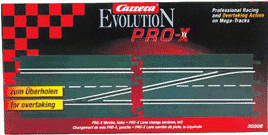 Carrera Pro-X Weiche, links (30306)
