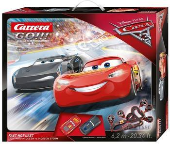Carrera Go!!! Disney/Pixar Cars 3 Fast Not Last (62416)