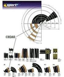 ScaleXtric Außenrandstreifen R1 45° (C8240)