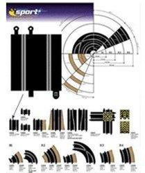 ScaleXtric Adapter Gerade Sport-Classic 175mm (C8222)