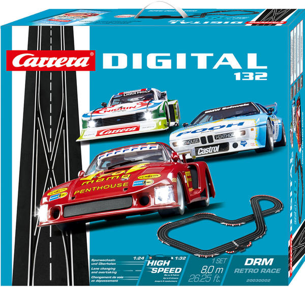 Carrera Digital 132 DRM Retro Race