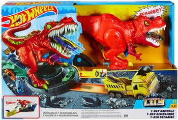 Hot Wheels City T-Rex Attacke