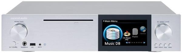 Cocktail Audio X40 silber (o. Festplatte)