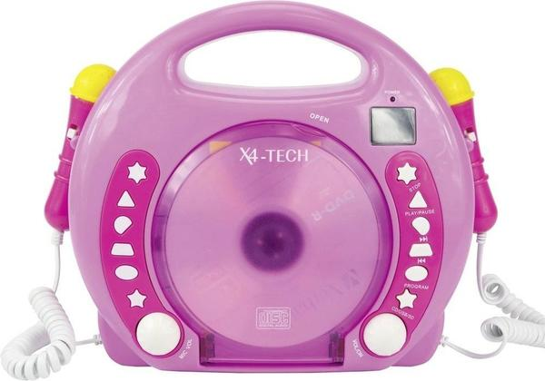 Vedes Karaoke CD Player rosa