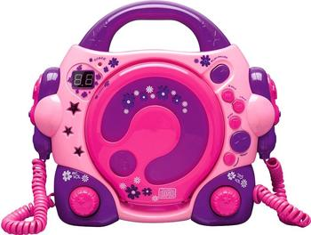 Bigben Karaoke CD Player pink