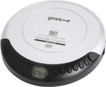 Groov-e Retro Series Personal CD Player silber
