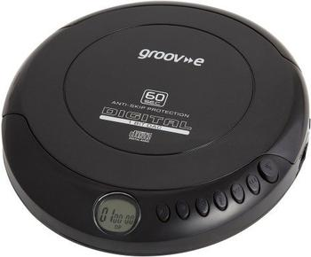 Groov-e Retro Series Personal CD Player schwarz