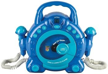 Idena Sing-A-Long CD-Player blau