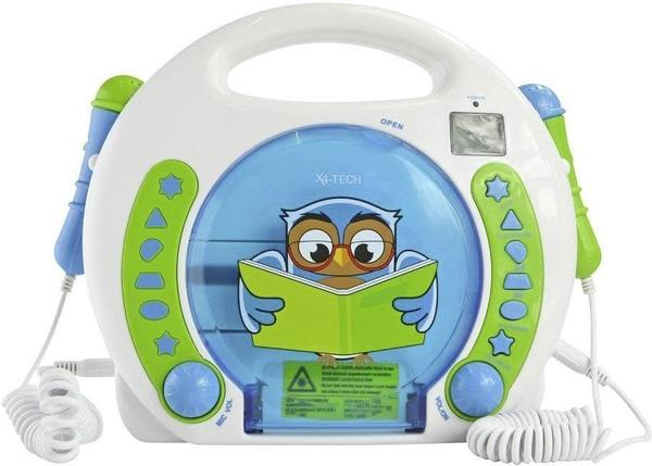 X4-Tech Bobby Joey Lese Eule CD-Player