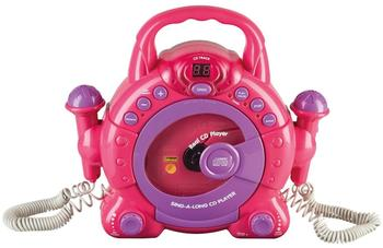 Idena Sing-A-Long CD-Player pink