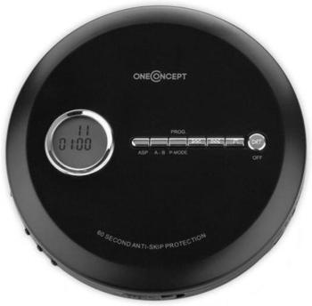 OneConcept CDC 100MP3 schwarz
