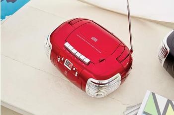 GPO PCD299 Portable Retro Boombox CD Player