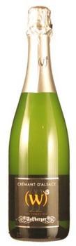 Wolfberger Cremant d'Alsace Blanc Brut 0,75l