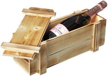 Moët & Chandon Rosé Impérial mit Holzkiste 0,75l
