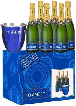 Pommery Brut Royal 6 x0,75l + 1 Kühler